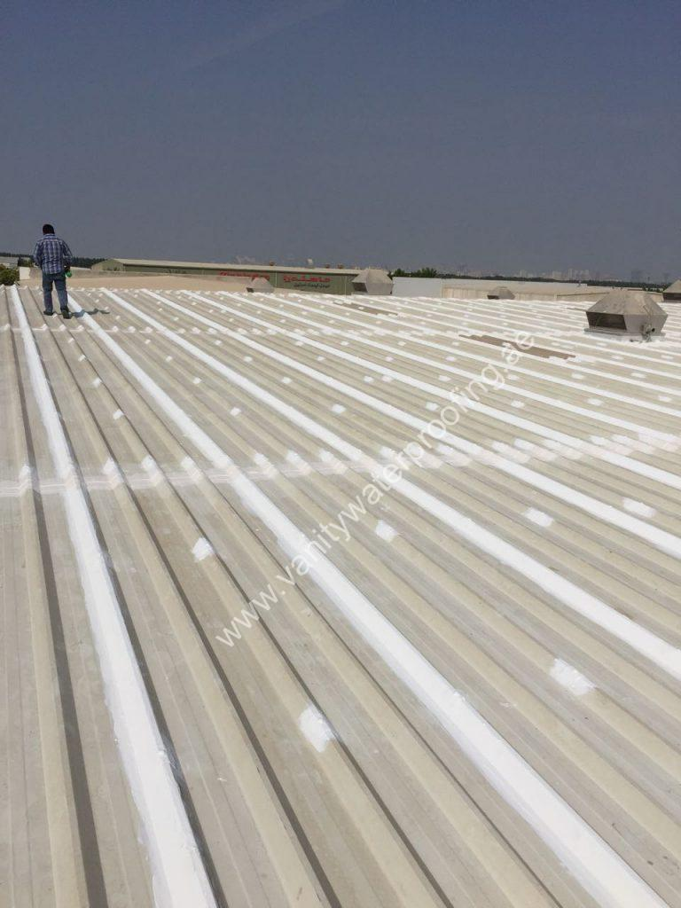 metal roof waterproofing in uae