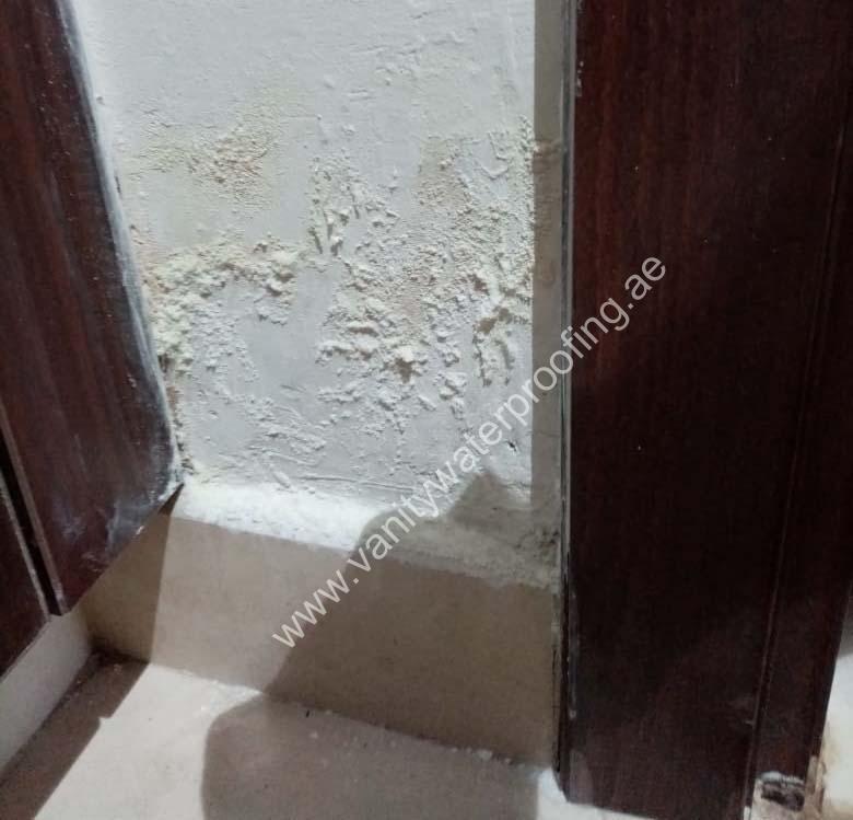 Peeling Paint Dampness Treatment company dubai uae