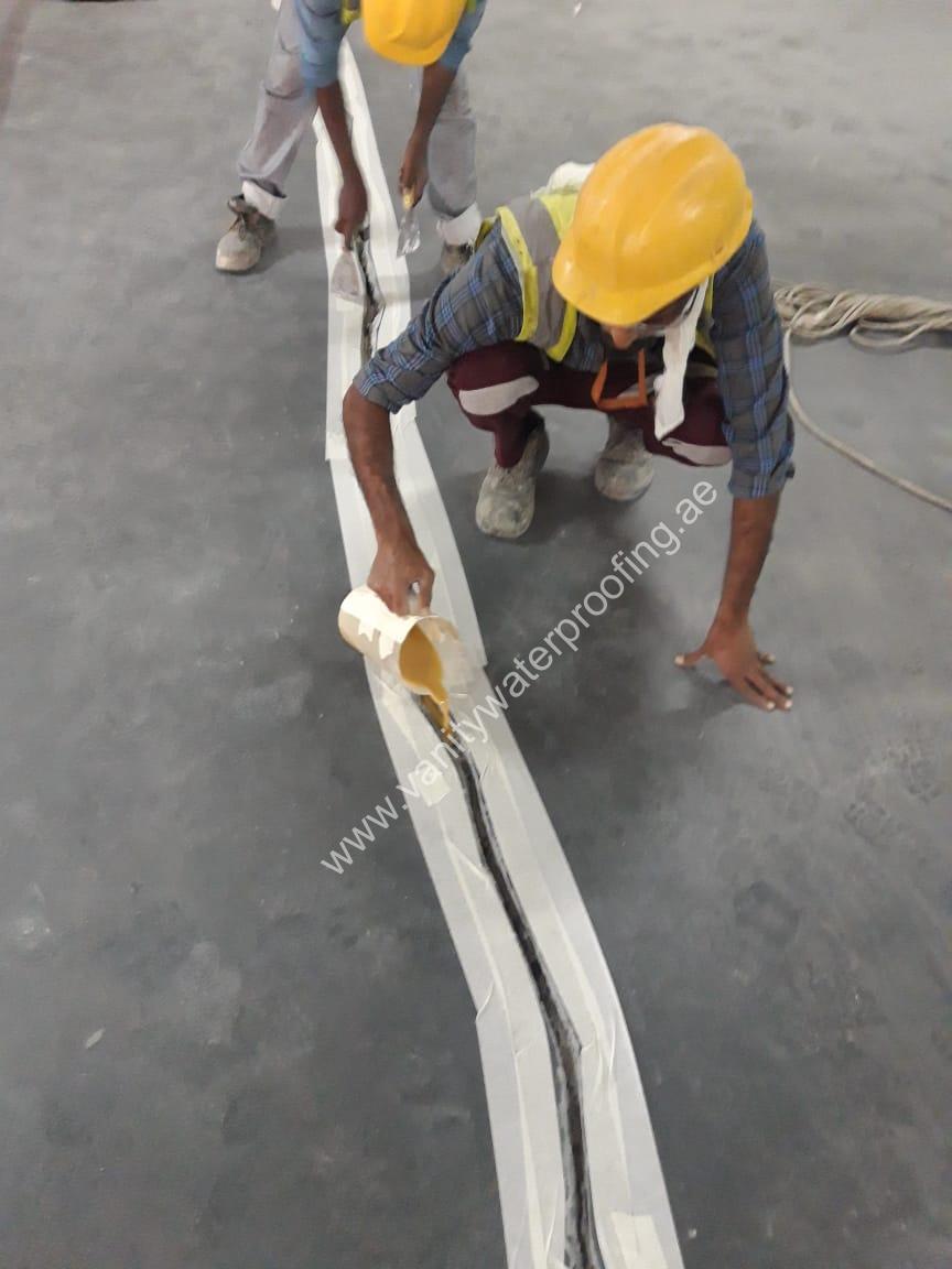 Crack Repair Waterproofing service in sharjah