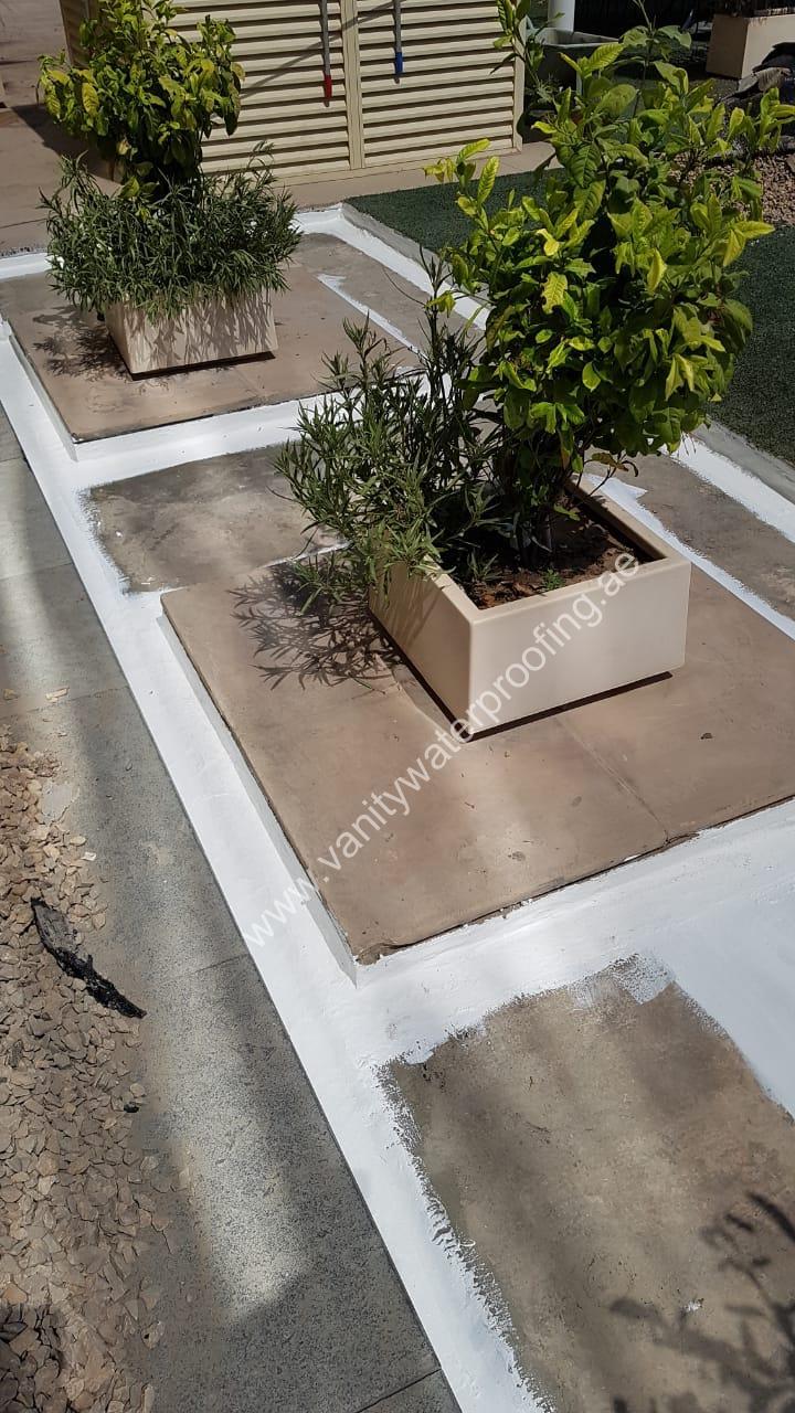 Planter Box waterproofing works dubai uae