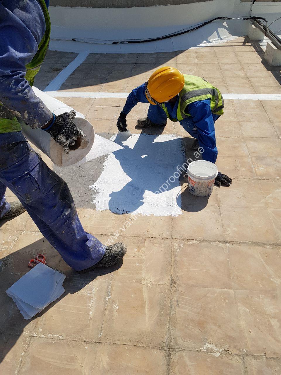 Tile Roof Waterproofing company in ajmaan uae