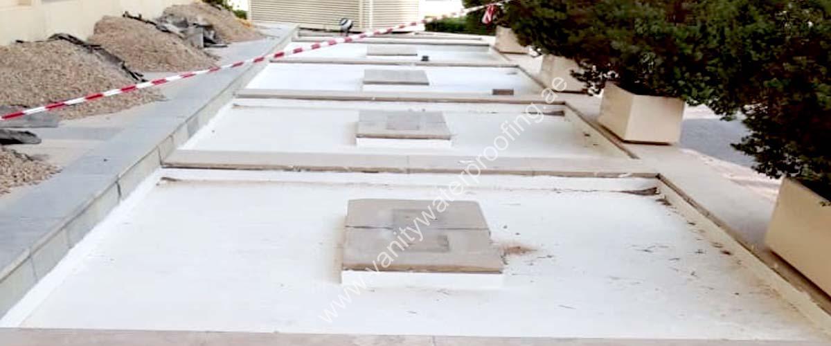 planter box waterproofing services in dubai uae