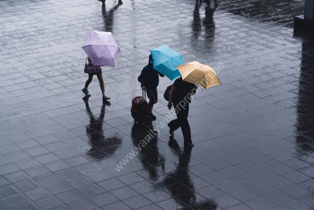 uae rain water leakage waterproofing solutions